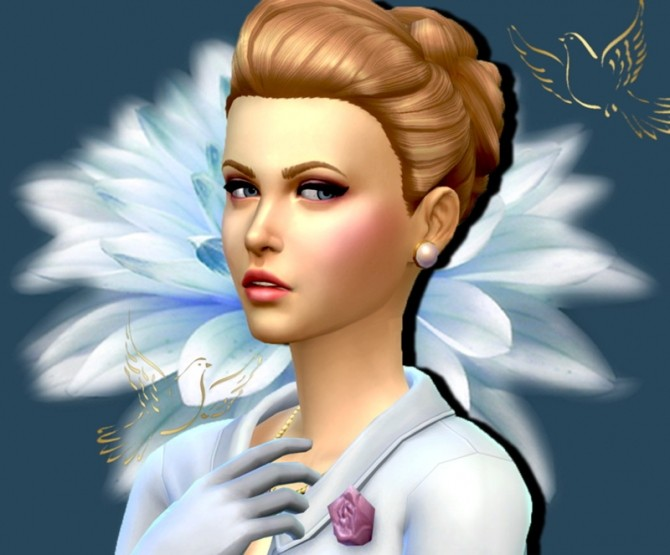 Grace Kelly by Mich Utopia at Sims 4 Passions image 29911 670x555 Sims 4 Updates