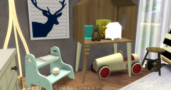 Boy Room at Sims4 Luxury image 2992 670x353 Sims 4 Updates