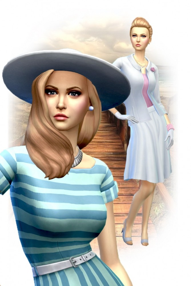 Grace Kelly by Mich Utopia at Sims 4 Passions image 3001 669x1000 Sims 4 Updates