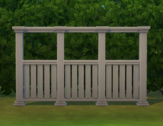 Tasteful Fence by plasticbox at Mod The Sims image 3011 670x520 Sims 4 Updates