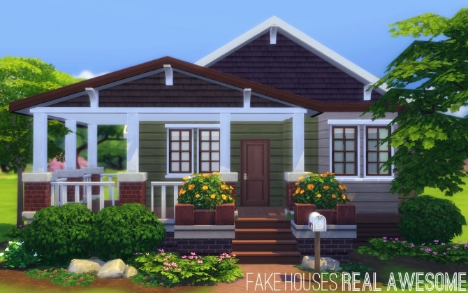 Sims 4 The Walton house at Fake Houses Real Awesome