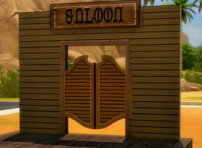 Non Swinging Doors : Non swinging doors sticker at budgie sims updates