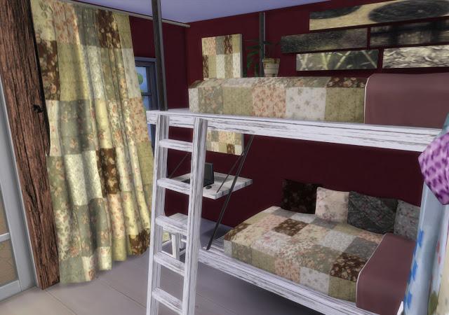 Mallorca Bedroom by Mary Jiménez at pqSims4 image 3143 Sims 4 Updates