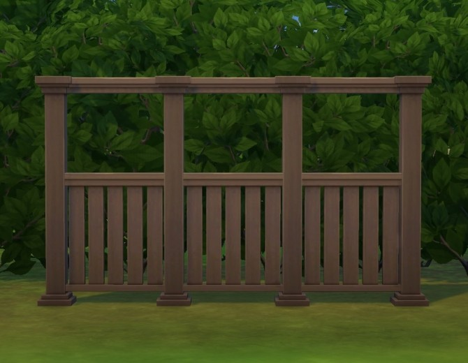Tasteful Fence by plasticbox at Mod The Sims image 315 670x520 Sims 4 Updates