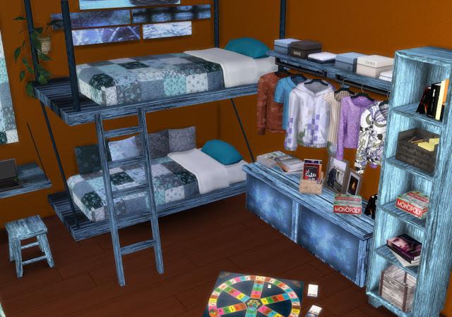 Mallorca Bedroom by Mary Jiménez at pqSims4 image 3153 Sims 4 Updates