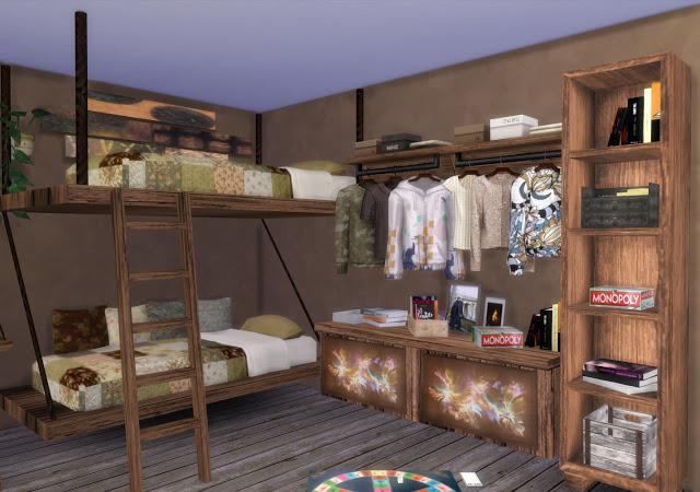 Mallorca Bedroom by Mary Jiménez at pqSims4 image 3173 Sims 4 Updates