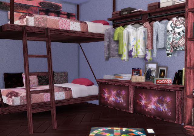 Mallorca Bedroom by Mary Jiménez at pqSims4 image 3193 Sims 4 Updates