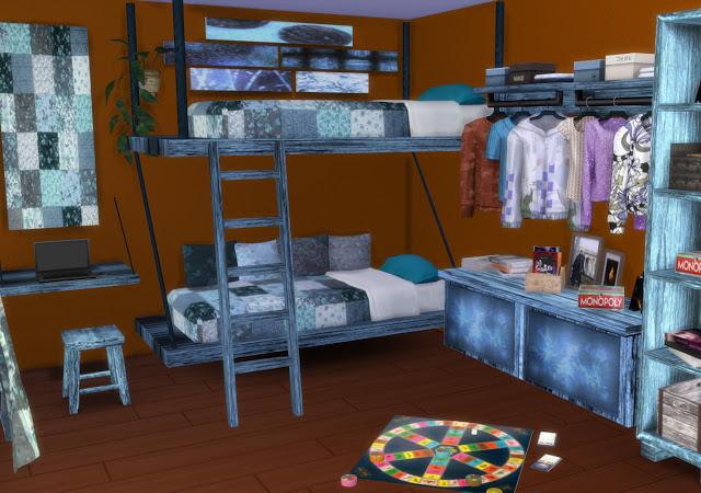 Mallorca Bedroom by Mary Jiménez at pqSims4 image 3202 Sims 4 Updates