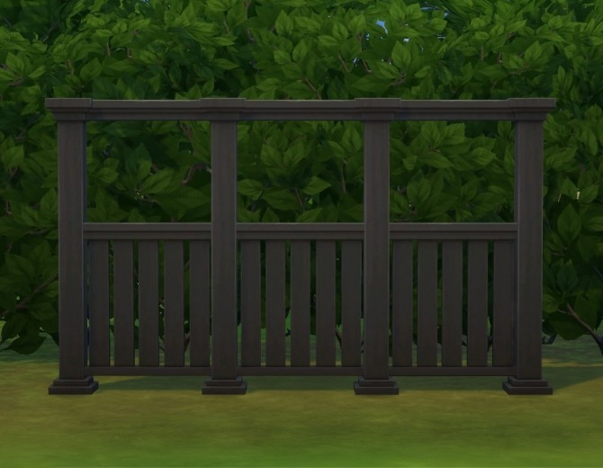 Tasteful Fence by plasticbox at Mod The Sims image 322 670x520 Sims 4 Updates