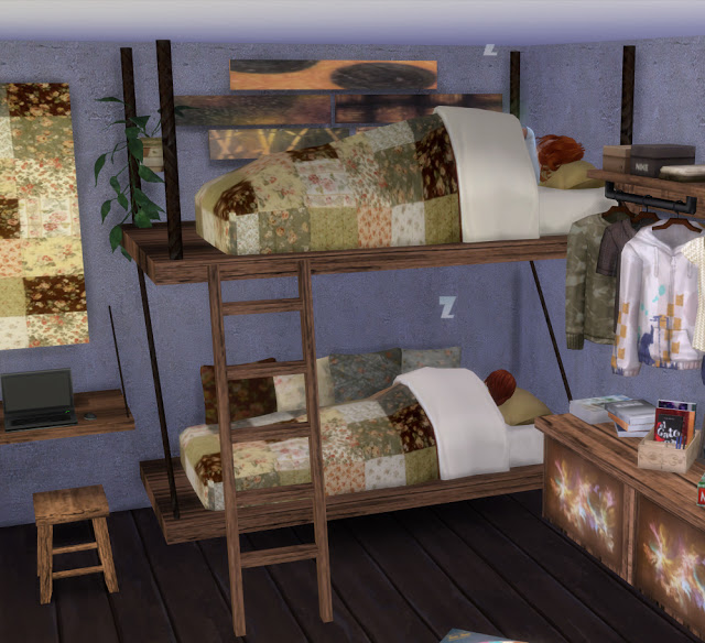 Mallorca Bedroom by Mary Jiménez at pqSims4 image 3223 Sims 4 Updates