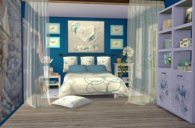 Formentera Bedroom by Mary Jiménez at pqSims4 image 3243 Sims 4 Updates
