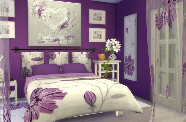 Formentera Bedroom by Mary Jiménez at pqSims4 image 3272 Sims 4 Updates