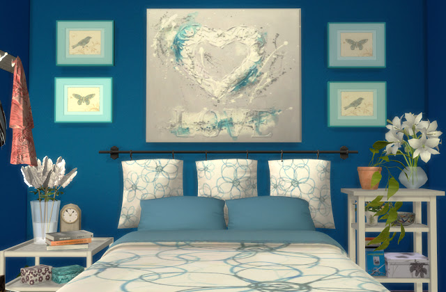Formentera Bedroom by Mary Jiménez at pqSims4 image 3302 Sims 4 Updates