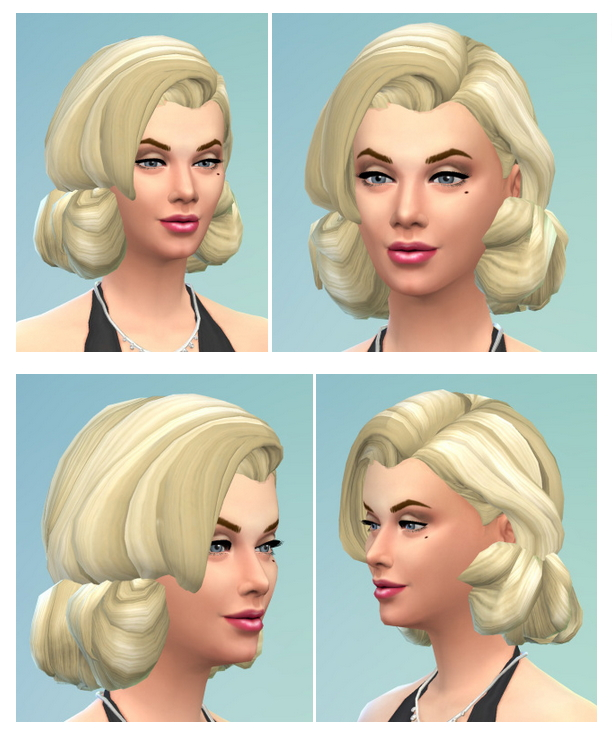 MM hair at Birksches Sims Blog image 3317 Sims 4 Updates