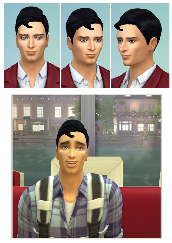 Superman's Hair at Birksches Sims Blog image 3333 Sims 4 Updates