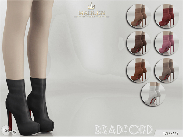Madlen Bradford Boots by MJ95 at TSR image 3526 Sims 4 Updates