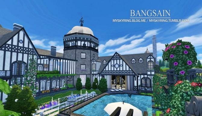 Sims 4 House 17 by Bangsain at My Sims House