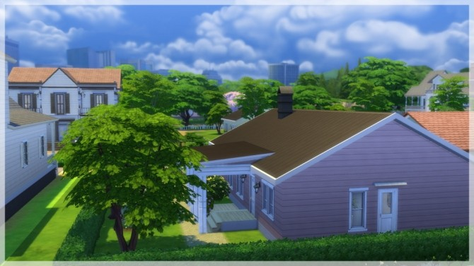 Sims 4 Rosengård house by Indra at SimsWorkshop