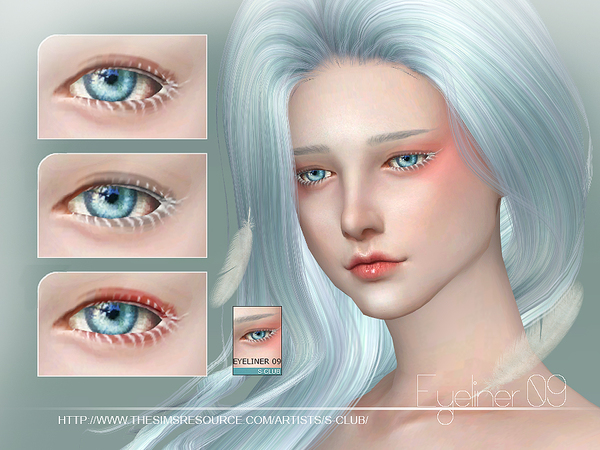 Eyeliner 09 by S Club WM at TSR image 3661 Sims 4 Updates