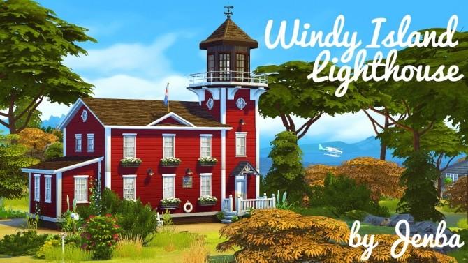 Windy Island Lighthouse at Jenba Sims image 3731 670x377 Sims 4 Updates