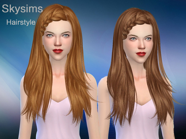 Hair 127 by Skysims at TSR image 377 Sims 4 Updates