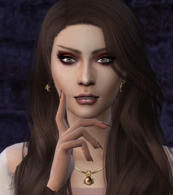 Sims 4 Paola Ambrosini by TheReds at Thomas J Chee