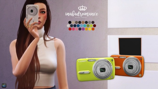 Camera (Deco + Acc) at In a bad Romance image 3911 670x377 Sims 4 Updates