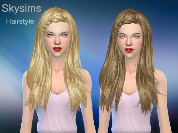Hair 127 by Skysims at TSR image 397 Sims 4 Updates