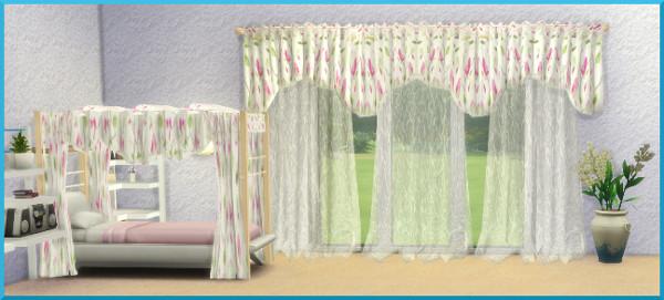 Sims 4 Curtains by Christine1000 at Sims Marktplatz