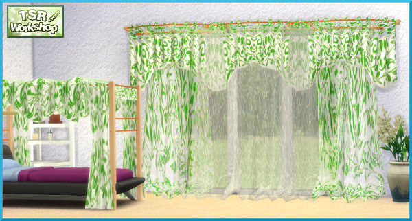 Curtains by Christine1000 at Sims Marktplatz image 4051 Sims 4 Updates