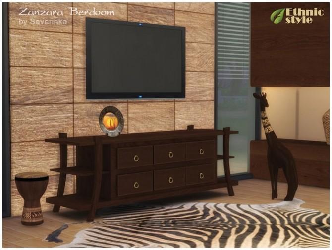 Sims 4 Zanzara bedroom at Sims by Severinka