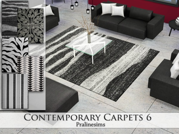 Contemporary Carpets 6 by Pralinesims at TSR image 4217 Sims 4 Updates