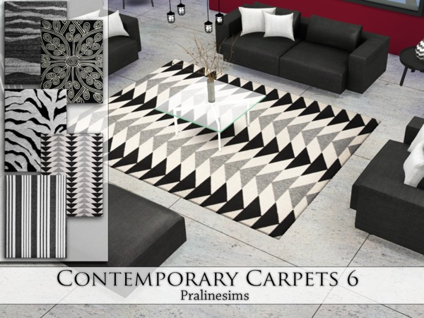 Contemporary Carpets 6 by Pralinesims at TSR image 4315 Sims 4 Updates