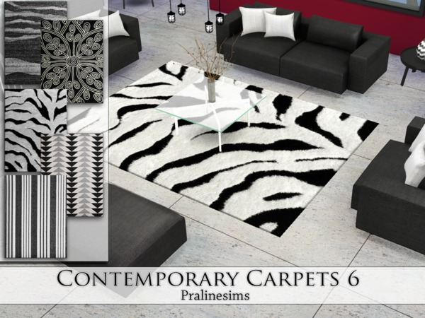 Contemporary Carpets 6 by Pralinesims at TSR image 4414 Sims 4 Updates