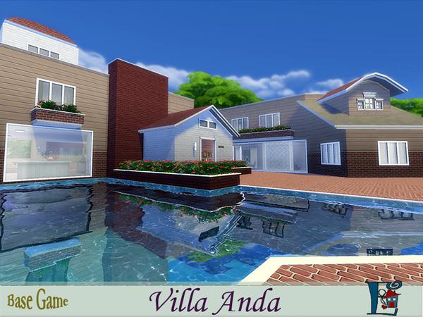 Sims 4 Villa Anda by evi at TSR