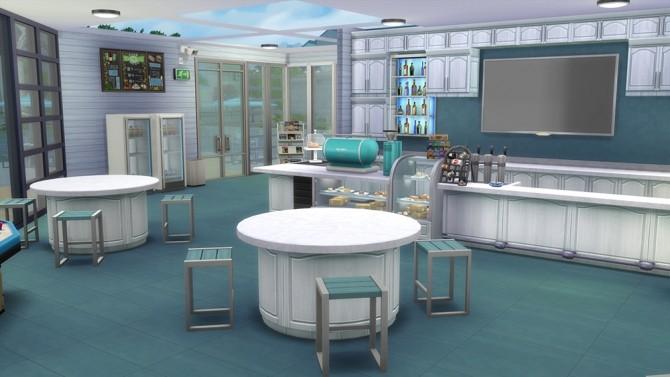 Sims 4 Marina Bar by Akuiyumi at SimsWorkshop
