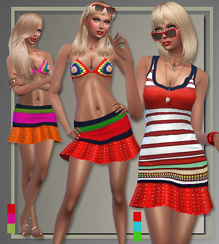5 outfits T.H. Spring 2016 by Judie at All About Style image 450 Sims 4 Updates
