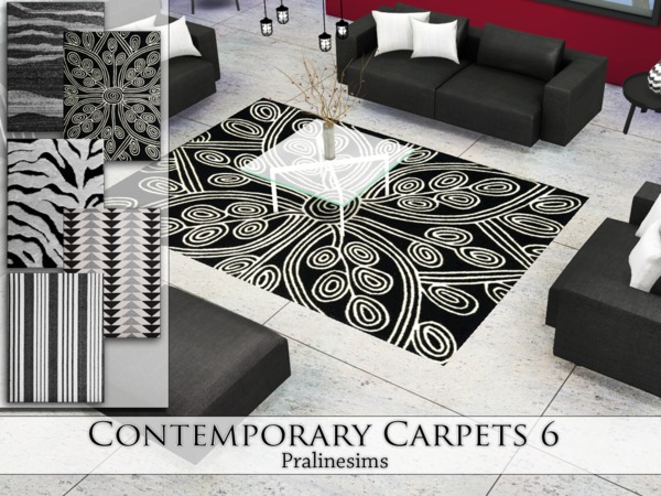 Contemporary Carpets 6 by Pralinesims at TSR image 4514 Sims 4 Updates