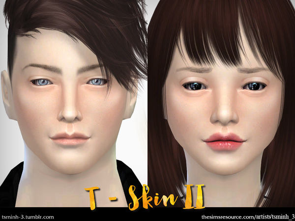Sims 4 T SKIN II by tsminh 3 at TSR