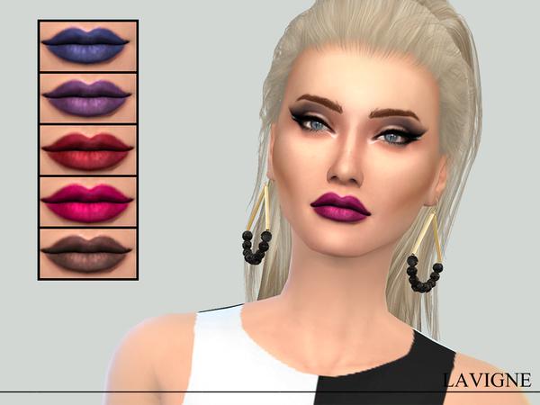 Sims 4 Iris Lipstick by Karla Lavigne at TSR