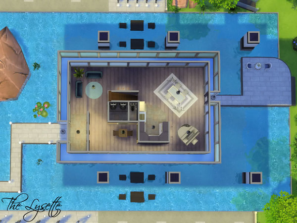 Sims 4 The Lysette house by Starmanut at TSR