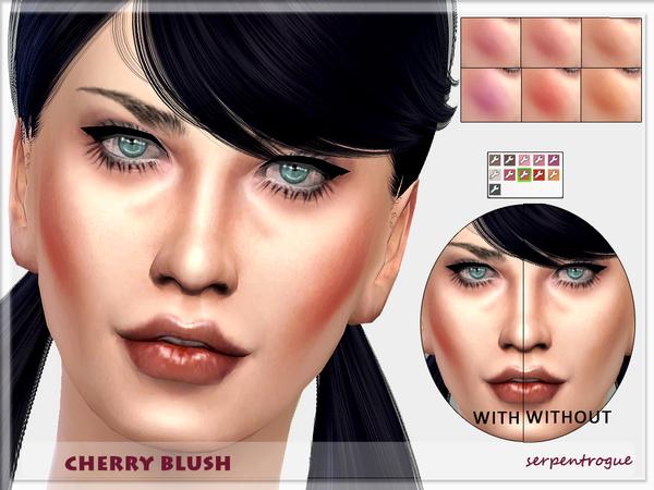 Sims 4 Cherry Blush by Serpentrogue at TSR
