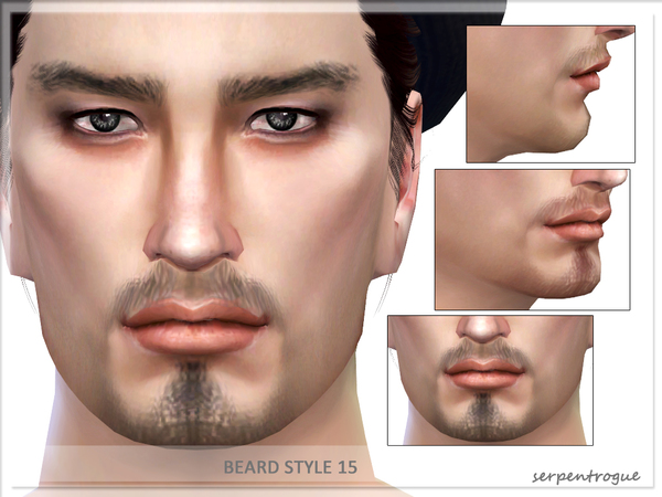 Beard Style 15 by Serpentrogue at TSR image 5112 Sims 4 Updates