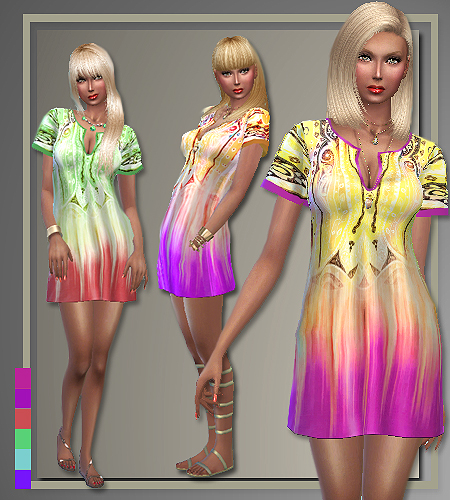Spring 2016 designer outfits by Judie at All About Style image 512 Sims 4 Updates