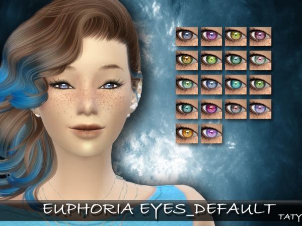 Sims 4 Taty Euphoria Eyes Default by tatygagg at TSR