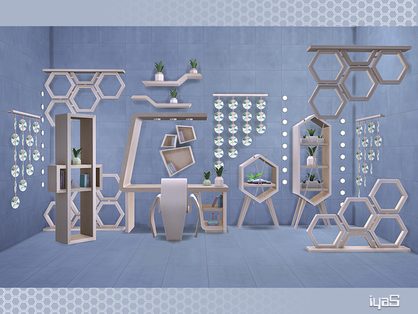 Eco Futuristic set by soloriya at TSR image 5414 Sims 4 Updates