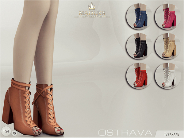 Sims 4 Madlen Ostrava Shoes by MJ95 at TSR