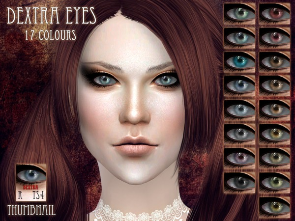Sims 4 Dextra Eyes by RemusSirion at TSR