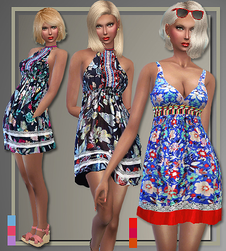 5 outfits T.H. Spring 2016 by Judie at All About Style image 560 Sims 4 Updates
