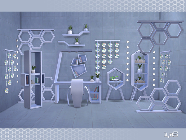 Eco Futuristic set by soloriya at TSR image 5614 Sims 4 Updates